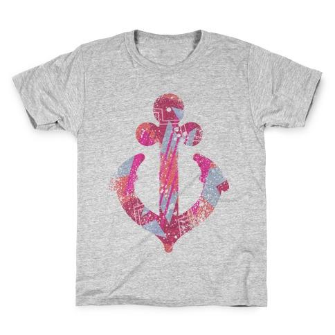 Aztec Anchor Kids T-Shirt