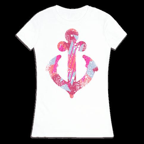 Aztec Anchor Womens T-Shirt