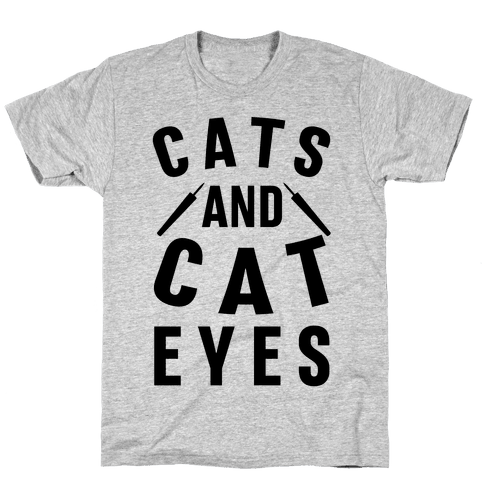 Cats and Cat Eyes Mens T-Shirt