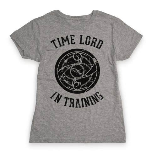 Time Lord In Training Womens T-Shirt