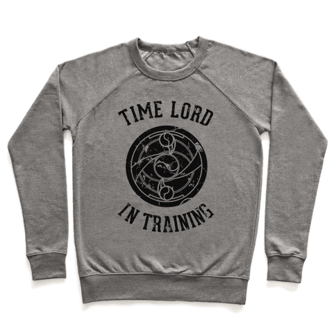 Time Lord In Training Pullover