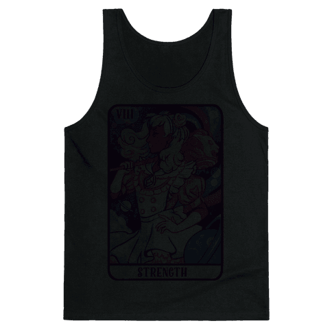 (Magical Girl) Strength Tarot Card Tank Top