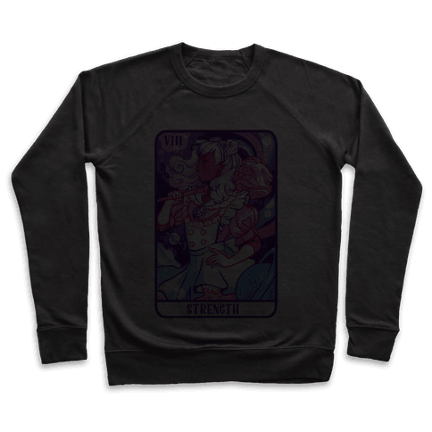 (Magical Girl) Strength Tarot Card Pullover