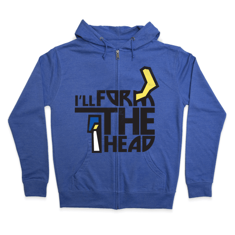 Form the Head Zip Hoodie