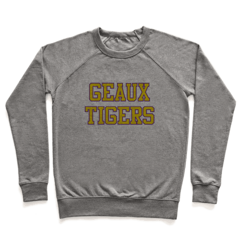 Geaux Tigers Pullover