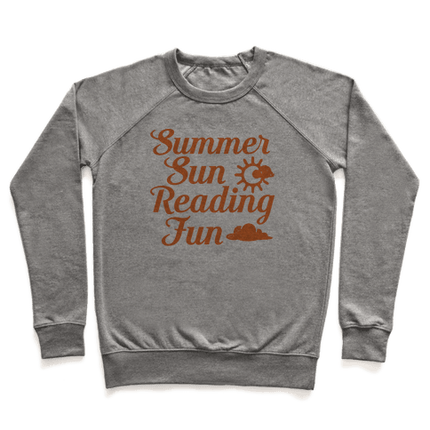 Summer Sun Reading Fun Pullover