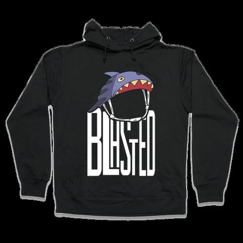 Blasted Hooded Sweatshirt