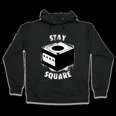 Stay Square (Dark Tank) Hooded Sweatshirt