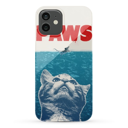 PAWS (JAWS Parody) Iphone Case Phone Case
