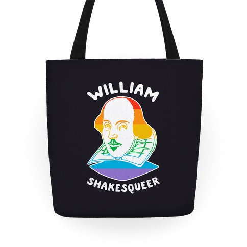 William ShakesQueer Tote