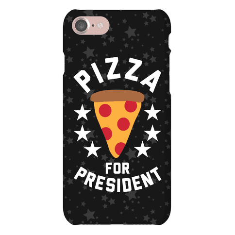 Pizza For President Phone Case