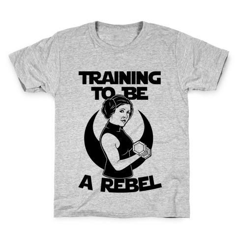 Training To Be A Rebel Kids T-Shirt