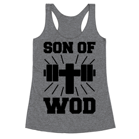 Son of Wod Racerback Tank Top