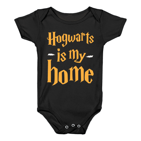 Hogwarts Is My Home Baby Onesy