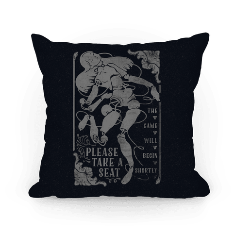 Death Parade Doll Pillow
