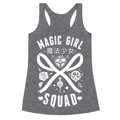 Magic Girl Squad Racerback Tank Top