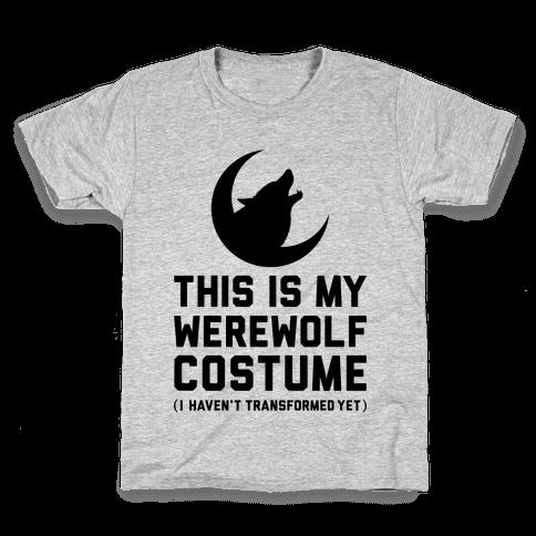Werewolf Costume Kids T-Shirt