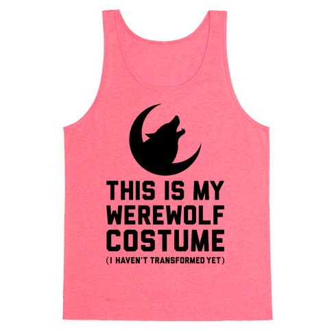 Werewolf Costume Tank Top