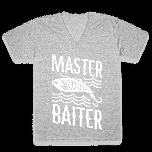 Master Baiter V-Neck Tee Shirt