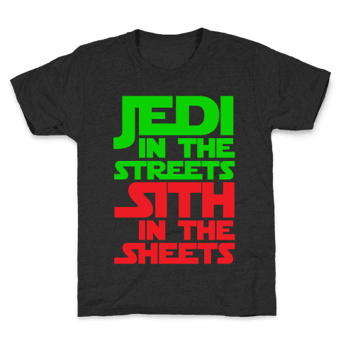 Jedi in the Streets Kids T-Shirt