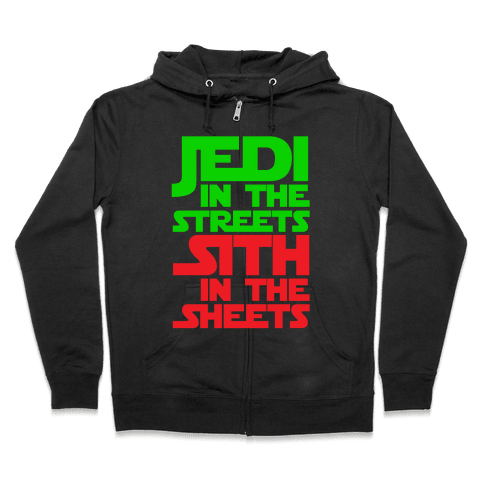Jedi in the Streets Zip Hoodie