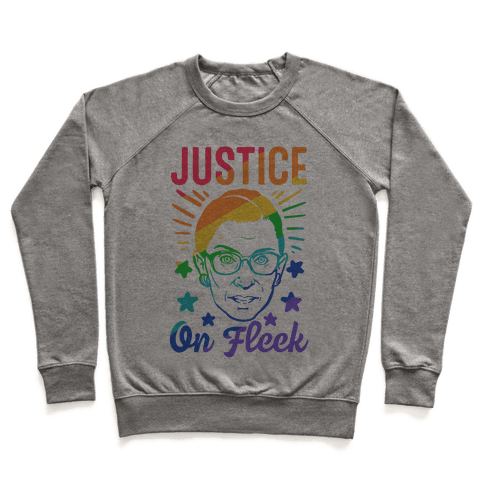 Justice On Fleek Pullover