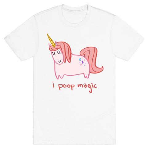 I Poop Magic Unicorn T-Shirt