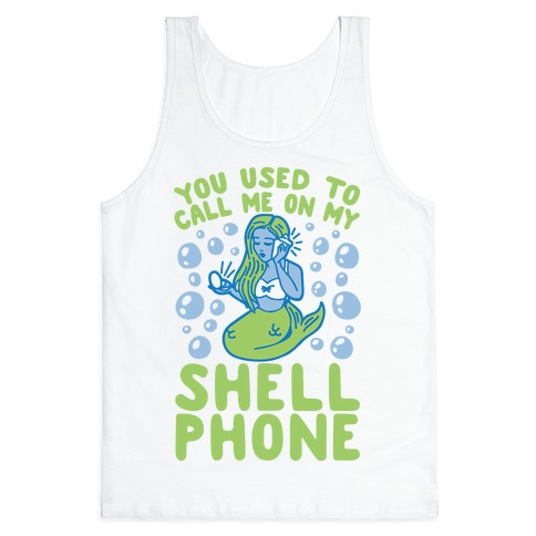 Call Me On My Shell Phone Tank Top