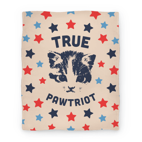 True Pawtriot Blanket