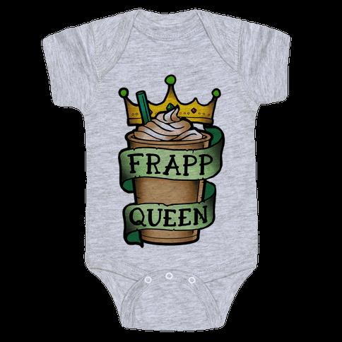 Frapp Queen Baby Onesy