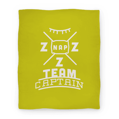 Nap Team Captain Blanket
