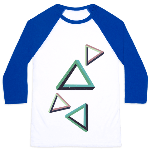 The Impossible Triangle Baseball Tee