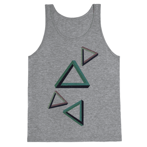 The Impossible Triangle Tank Top