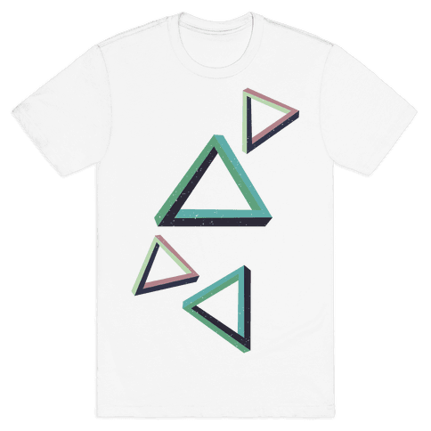 The Impossible Triangle Mens T-Shirt