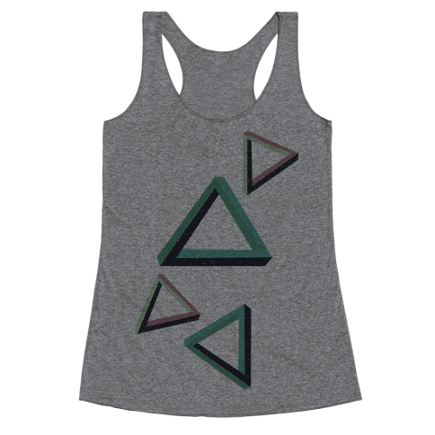 The Impossible Triangle Racerback Tank Top