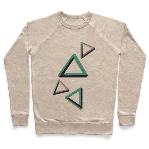The Impossible Triangle Pullover