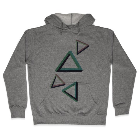 The Impossible Triangle Hooded Sweatshirt