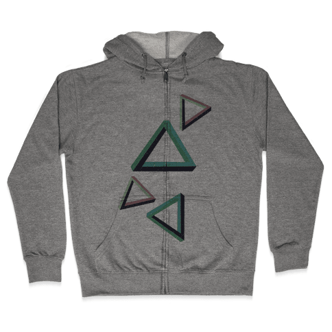 The Impossible Triangle Zip Hoodie