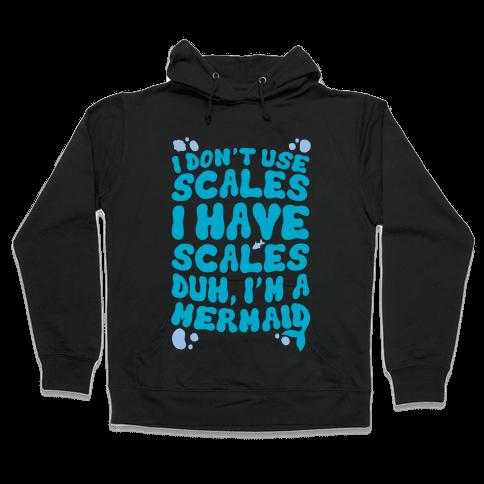 Mermaid Scales Hooded Sweatshirt