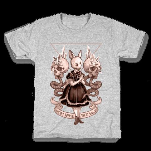 Do What Thou Wilt Kids T-Shirt