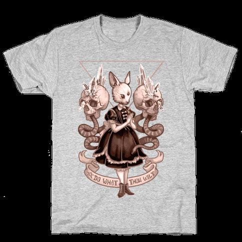 Do What Thou Wilt Mens T-Shirt