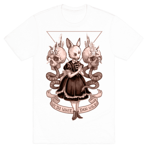 Do What Thou Wilt Mens T-Shirt