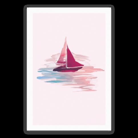 Sail The Seas Poster