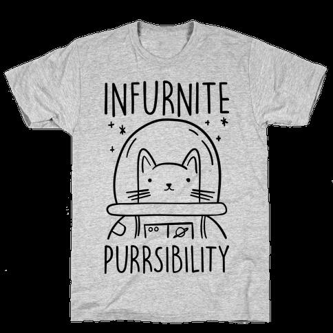 Infurnite Purrsibility Mens T-Shirt