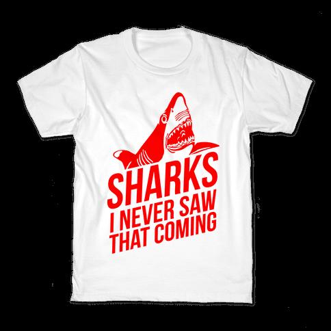 Sharks! Kids T-Shirt