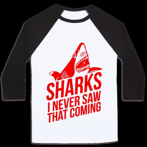 Sharks! Baseball Tee