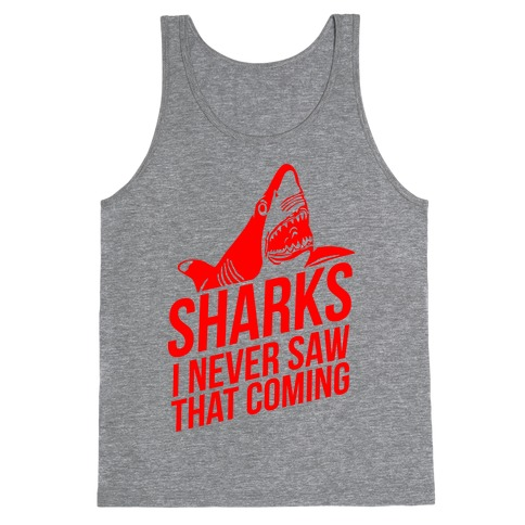 Sharks! Tank Top