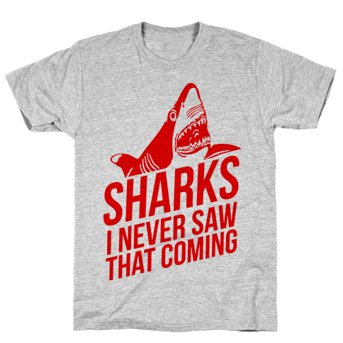 Sharks! Mens T-Shirt