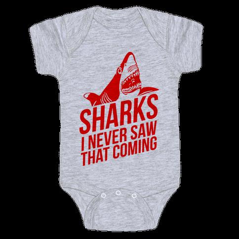 Sharks! Baby Onesy