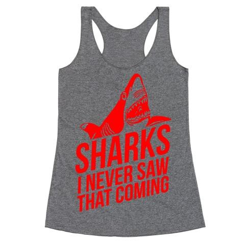 Sharks! Racerback Tank Top